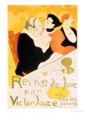 Reine De Joie, 1892 Giclee Print by Henri de Toulouse-Lautrec