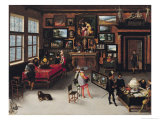 Science and the Arts Premium Giclee Print by Adriaen van Stalbemt