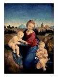 The Esterhazy Madonna Giclee Print by  Raphael