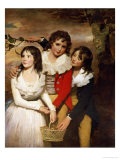 The Paterson Children Reproduction procédé giclée par Sir Henry Raeburn