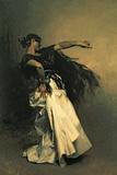 La danseuse espagnole, étude pour «El Jaleo»,1882 Reproduction procédé giclée par John Singer Sargent