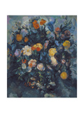 Vase of Flowers, 19th Giclee Print by Paul Cézanne