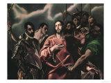 The Disrobing of Christ (El Espolio) Giclee Print by  El Greco