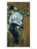 Jane Avril (1868-1943) Dancing, circa 1892 Giclee Print by Henri de Toulouse-Lautrec