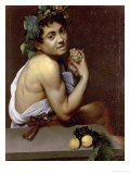 The Sick Bacchus, 1591 Premium Giclee Print by  Caravaggio