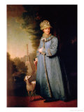 Portrait of Catherine II, 1757 Giclee Print by Vladimir Lukich Borovikovsky