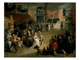 The Court Ball, 1604 Giclee Print by Marten Pepyn