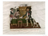 Country Folk and the Money Changer Giclee Print by Le Sueur Brothers