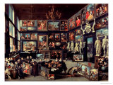 The Gallery of Cornelis Van Der Geest Giclee Print by Willem van Haecht
