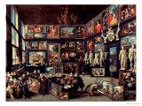 The Gallery of Cornelis Van Der Geest Gicléetryck av Willem van Haecht