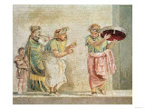 The Street Musicians, circa 100 BC Giclee Print
