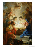 Adoration of the Shepherds Giclee Print by Mariano Salvador de Maella