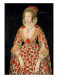 Portrait of a Lady, 1619 Giclee Print by Marcus Gheeraerts