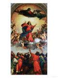 The Assumption of the Virgin, 1516-18 Giclée-Druck von  Titian (Tiziano Vecelli)