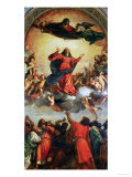 The Assumption of the Virgin, 1516-18 Impressão giclée por  Titian (Tiziano Vecelli)