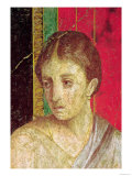Detail of the Head of the Seated Mother, from the Catechism Scene, North Wall, Oecus 5, 60-50 BC Giclee Print