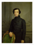 Charles-Alexis-Henri Clerel De Tocqueville (1805-59) 1850 Giclee Print by Theodore Chasseriau