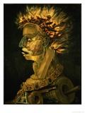 Fire, 1566 Impression giclée par Giuseppe Arcimboldo