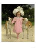 Alice Antoinette De La Mar, Aged Five Giclee Print by Jan van Beers