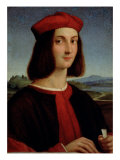 Portrait of the Young Pietro Bembo, 1504-6 Giclee Print by Raphael