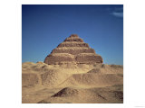 Step Pyramid of King Djoser Old Kingdom, Giclee Print