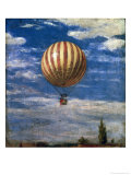 The Balloon, 1878 Premium Giclee Print by Paul von Szinyei-Merse