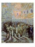 The Exercise Yard, or the Convict Prison, c.1890 Giclée-Druck von Vincent van Gogh