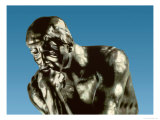The Thinker, 1881 Giclee Print by Auguste Rodin