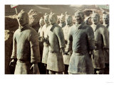 Terracotta Army, Qin Dynasty, 210 BC, Warriors Giclee Print
