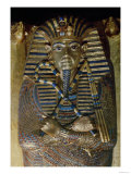 Innermost Coffin of Tutankhamun, Showing the King in Osiride Form Clasping the Crook and Flail Giclee Print