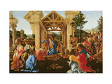 The Adoration of the Magi, 1481-82, Sando Boticelli, Giclee Print