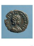Tetrachm (Obverse) of Zenobia, Queen of Palmyra, Minted at Alexandria circa 274 (Billon), Giclee Print