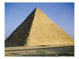 Pyramid of Khafre (2520-2494 BC) circa 2589-30 BC Giclee Print