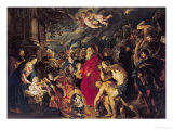 Adoration of the Magi, 1610 Giclee Print by Peter Paul Rubens