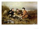Hunters, 1816 Giclée-Druck von Vasili Grigorevich Perov