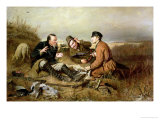 Hunters, 1816 Giclee Print by Vasili Grigorevich Perov