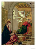 The Dream of St. Joseph, circa 1535 Giclee Print by Juan de Borgona