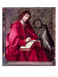 St. John the Evangelist, from the St. Thomas Altarpiece Giclee Print by Pedro Berruguete