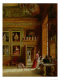 Hampton Court, 1849 Giclee Print by James Digman Wingfield