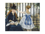 Gare St. Lazare, 1872-3 Giclee Print by Édouard Manet