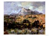 Montagne Sainte-Victoire, circa 1882-85 Giclee Print by Paul Cézanne