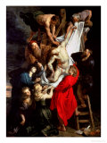 The Descent from the Cross, Central Panel of the Triptych, 1611-14 Giclee Print by Peter Paul Rubens