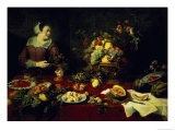 The Fruit Bowl Giclee Print by Frans Snyders