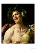 Self Portrait as Bacchus Giclee Print by Jan van Dalen