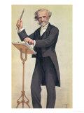 James Tissot - Giuseppe Verdi (Cartoon) Digitálně vytištěná reprodukce