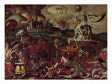 The Triumph of Death Giclee Print by Antoine Caron