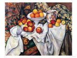 リンゴとオレンジ 1895-1900年 ジクレープリント : ポール・セザンヌ