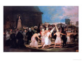 Procession of Flagellants, 1815-19 Giclee Print by Francisco de Goya