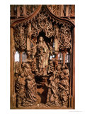Assumption of the Virgin, Central Panel of the Marienaltar, 1505-10 (Limewood) Giclee Print by Tilman Riemenschneider