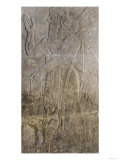 Relief Depicting a Winged Genie, from the Palace at Nimrud (Kalah) (Gypsum) Giclee Print